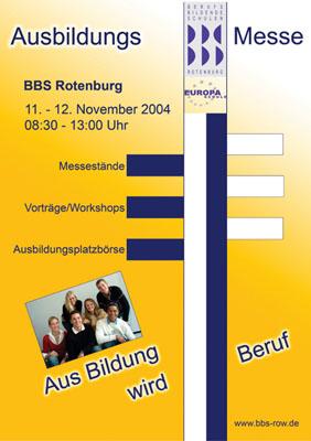 Ausbildungsmesse 2004
