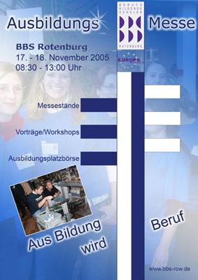 Ausbildungsmesse 2005