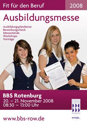 Ausbildungsmesse 2008
